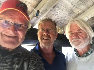 Arvid, Jan og Lars