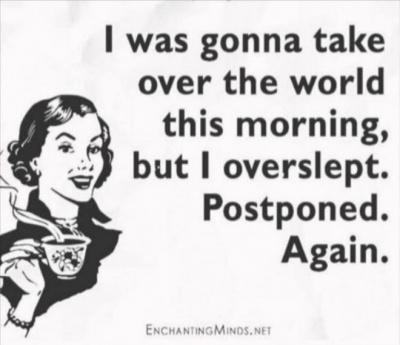 On procrastination