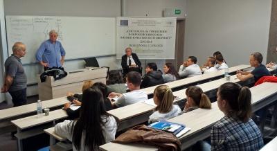 ECEM, 20 September 2014, Lars Soeftestad lecturing.